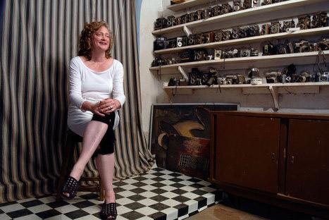 Christine Ollier était la Marraine de l'édition 2012 du festival Circulation(s)