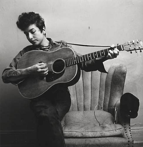 Bob Dylan, New York Apartment, 1963 © Estate of Don Hunstein
